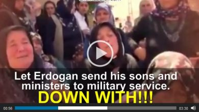 """Photo of VIDEO- Mothers of Turkey, """"DOWN WITH! Let Erdogan send his ministers and sons to military service!"""""""