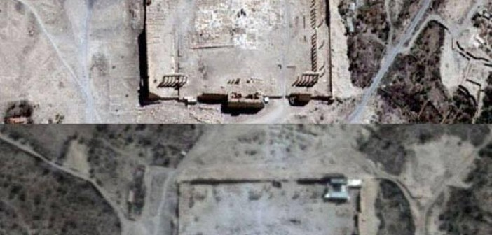 Photo of Satellite Imagery Confirms the Destruction of Another Historical Site in Palmyra