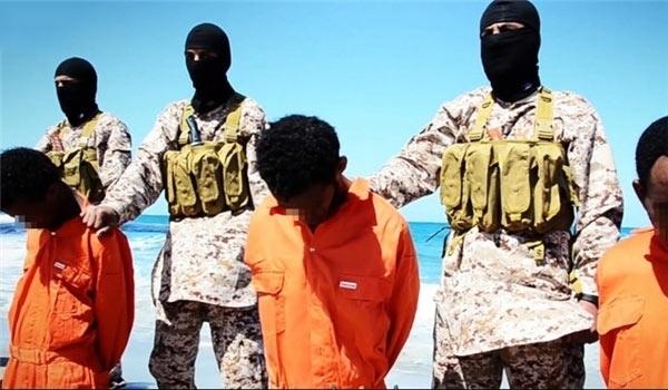 Photo of Inhuman ISIL Terrorists Execute Two Kurdish Men in Syria's Al-Bab