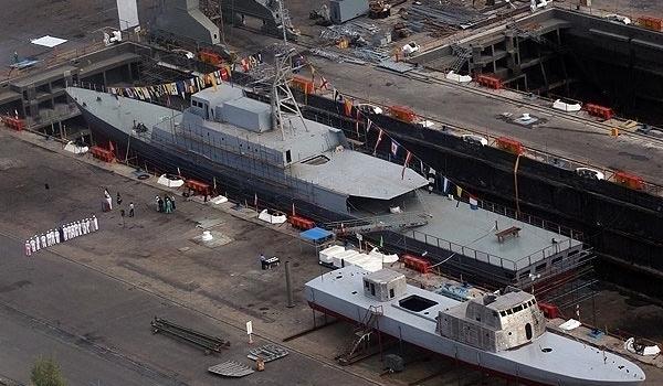 Photo of Iran Building New Warship