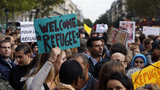 Photo of People rally across Europe in support of asylum seekers