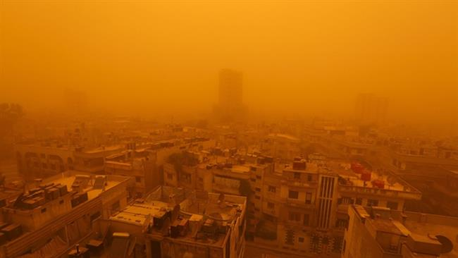 Photo of Massive sandstorm sweeps Middle East, killing at least 8