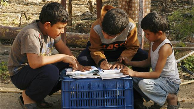 Photo of Wars leave 13 million children withouts school in Mideast : UN