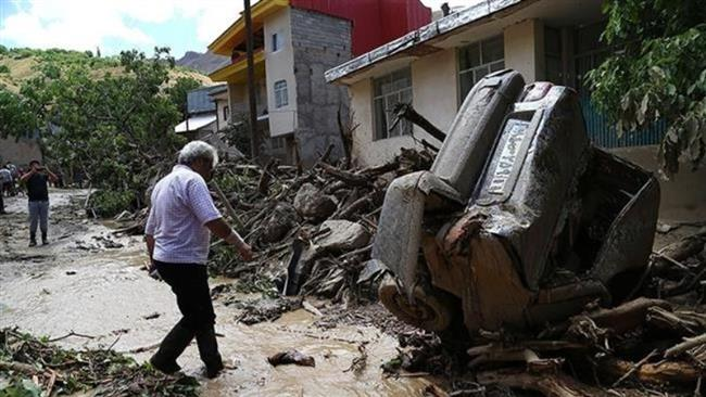 Photo of Flash floods kill 11 across Iran
