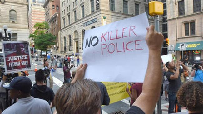 Photo of American Awakening- Baltimore protesters demand justice for black victims of police brutality