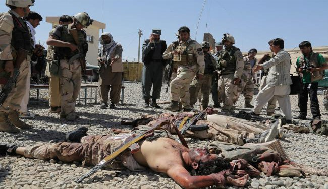 Photo of 40 Daesh Terrorists Killed in Nangarhar Attack