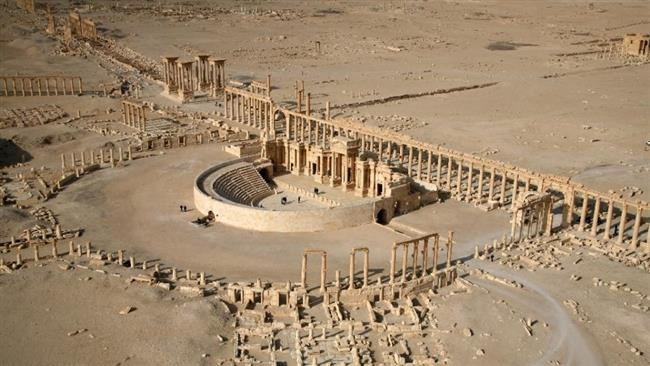 Photo of Terrorist ISIL blow up 3 tower tombs at Syria's Palmyra