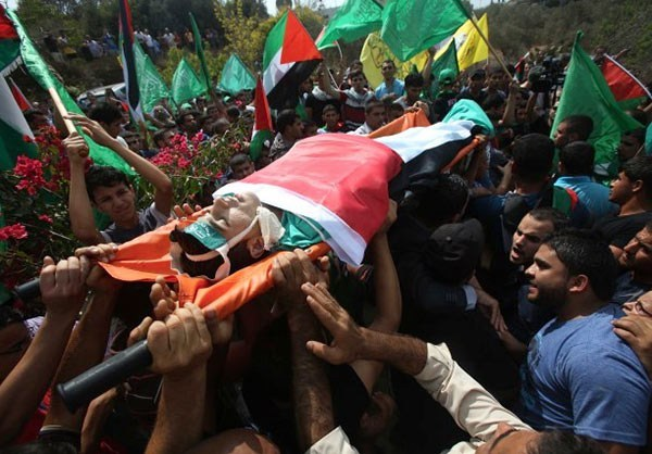 Photo of Palestinians Mourn Death of Teenagers Killed by Israeli Military
