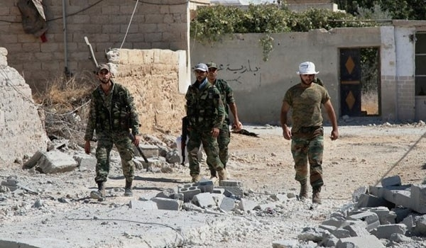 Photo of Spokesman: Syrian Army Continuing Advance against Terrorists