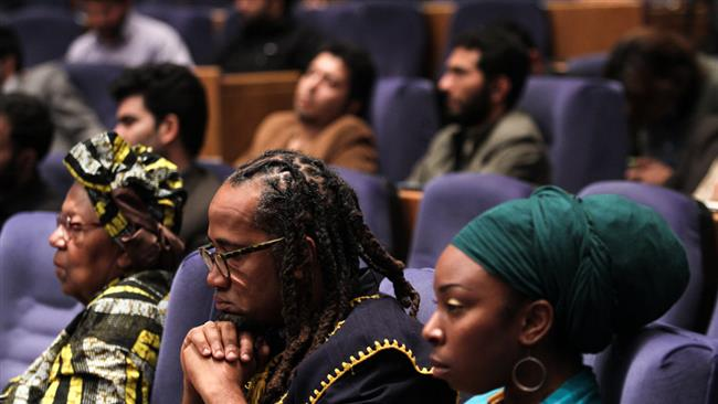 Photo of Photos- Tehran hosts black activists in confab over US police brutality