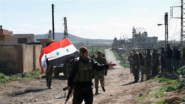 Photo of Syrian army troopers deal major blows to Takfiri militants