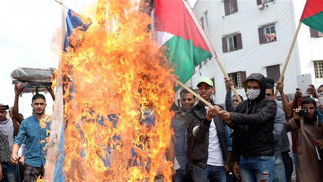 Photo of Ten Thousands stage anti-Israeli rally in Casablanca