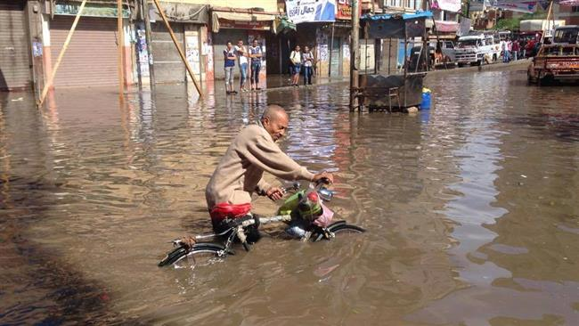Photo of Floods force Egyptian governor to resign