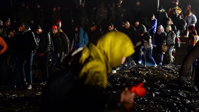 Photo of Refugee treatment in ECroatia, Slovenia, unacceptable
