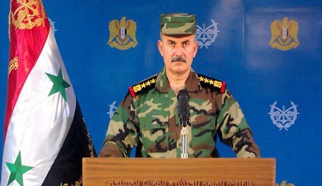 Syrian Military Spokesman: Army Operations Continue Successfully in Homs, Hama, Lattakia, Aleppo