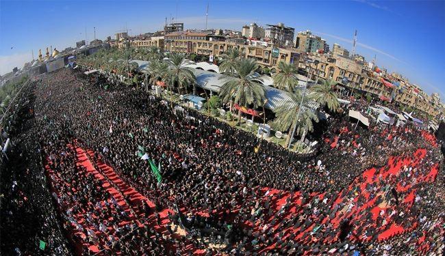 Millions Gather in Iraq's Karbala to Mourn Ashura