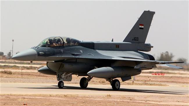 Photo of Iraqi F-16 jets bombard Daesh in Ramadi for first time