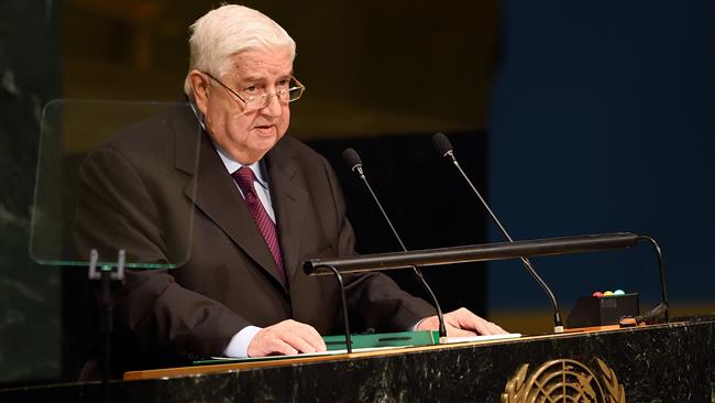 """Photo of """"israel"""" arming terrorists in Syria: FM Muallem"""