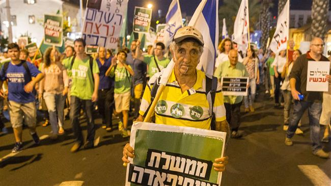 Photo of Thousands of Israeli protesters rally against Netanyahu policies