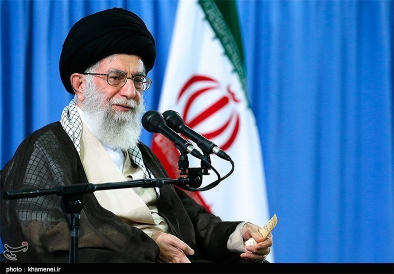 "Photo of Imam Khamenei: Iran's Regional Stances ""Most Logical"""