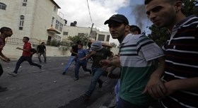 Photo of 50 Palestinians injured by Israeli bullet fire in funeral of Resistance Martyr