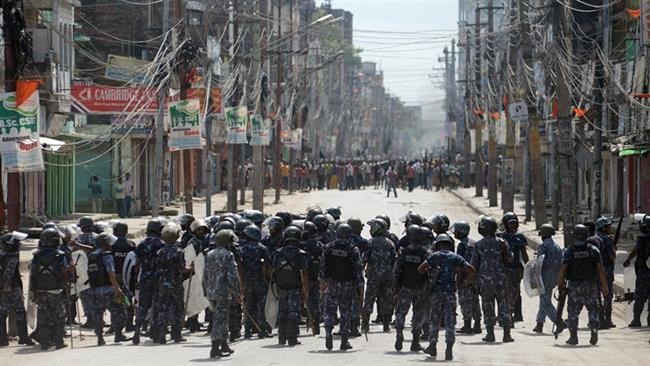 Photo of Nepalese police shoot dead two anti-constitution protesters