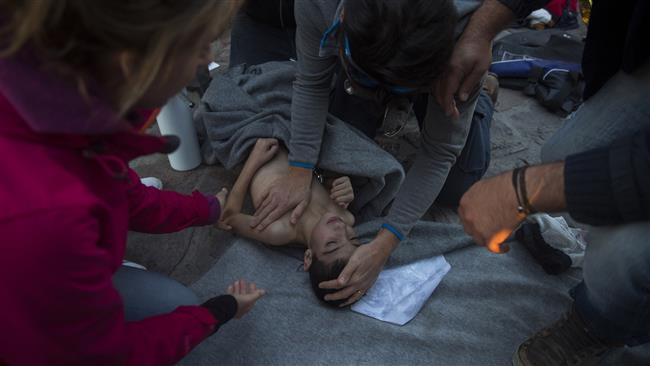 Photo of Another refugee kid drowns near Greece
