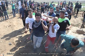 Photo of 35 Gazan youths injured during Friday clashes with zionist regime