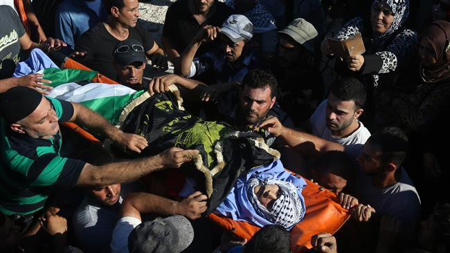 Photo of Terrorist Israeli forces shoot, injure another Palestinian youth