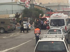 Photo of Zionist Settler seriously injured in stabbing attack