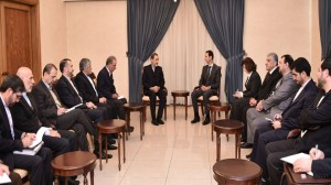 Photo of Assad Meets Velayati: Striking Terrorism is the Basis of Stability