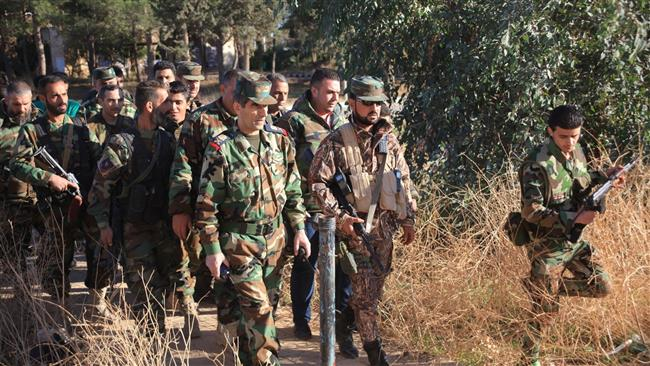 Photo of Syrian army making more advances against terrorists