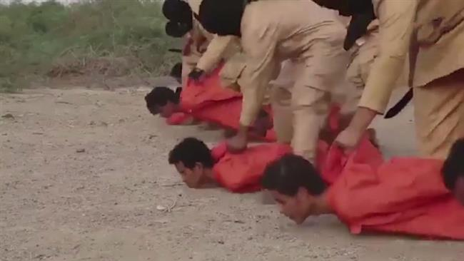 Photo of US-israel, Turkey, Qatar, KSA backed Rabid Dogs of ISIL executes Yemen's Ansarullah fighters in gruesome video