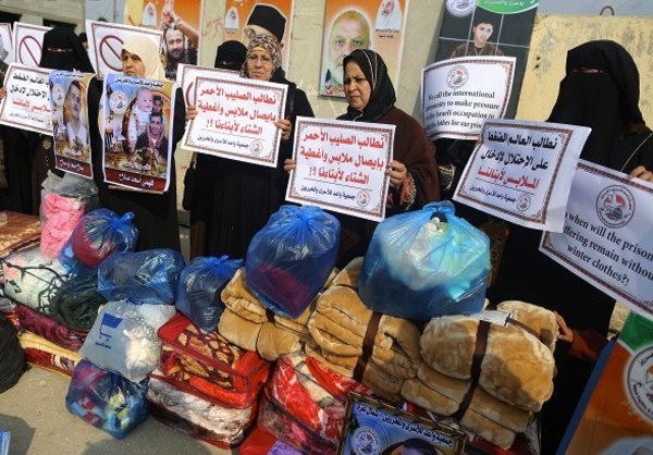 Photo of Families of Palestinian Prisoners Stage Rally in Gaza