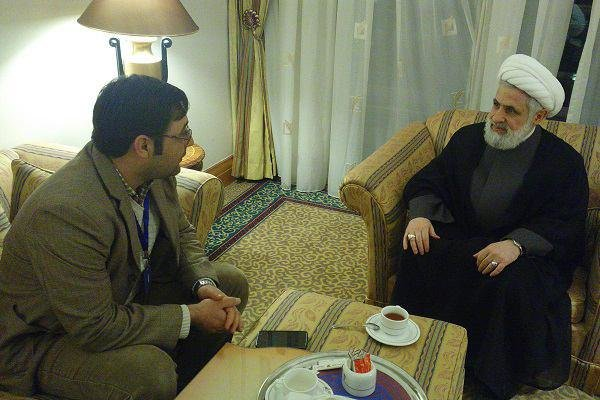 Photo of Sheikh Naim Qassem: Syria a swamp where west stuck