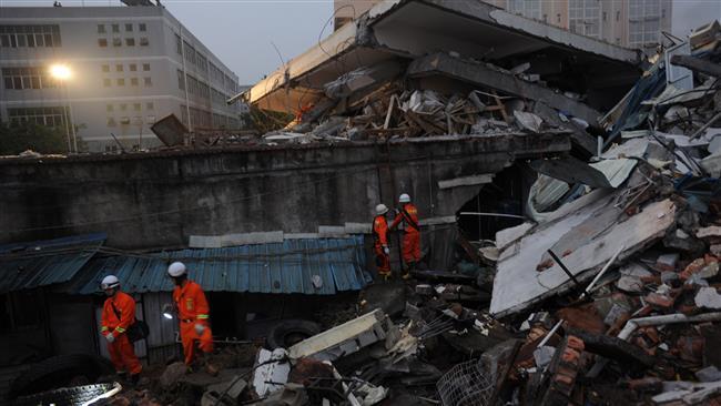 Photo of China huge landslide leaves 100 people missing