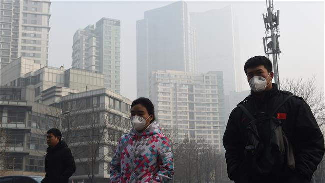 Photo of Chinese capital declares 2nd red alert over air pollution