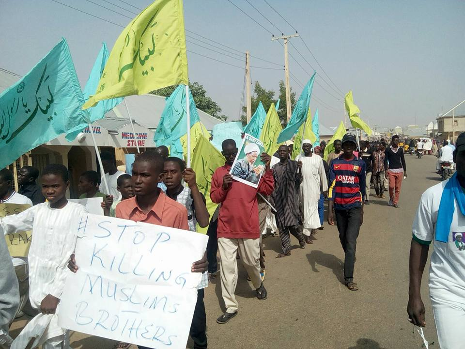 Photo of Protest held in Katsina and Gombe condemning Military Genocide on defenceless people