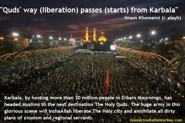 Photo of VIDEO: Imam Khomeini (r.aleyh) should have seen 20 million people marching in Karbala 40 years ago!