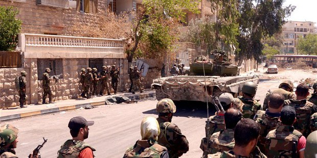 Photo of Syrian Army makes a major push towards Idlib's strategic town