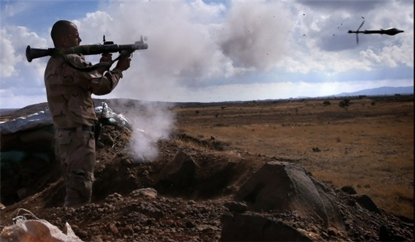 Photo of Syrian Forces Continue Crushing Militants East of Damascus