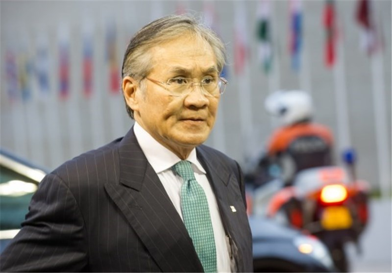 Photo of Thailand's FM in Tehran for Talks