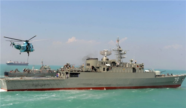 Photo of Another Iran-US Showdown in Persian Gulf: US Warship Shooed Away