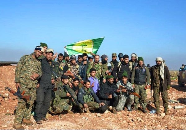 Photo of PHOTOS: Iraqi Volunteer Forces from Kata'ib al-Imam Ali brigade fighting against Takfiri militants in the Southern Aleppo