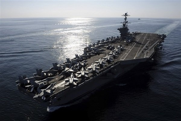 Photo of Iran's surveillance drone takes precise photo of US aircraft carrier