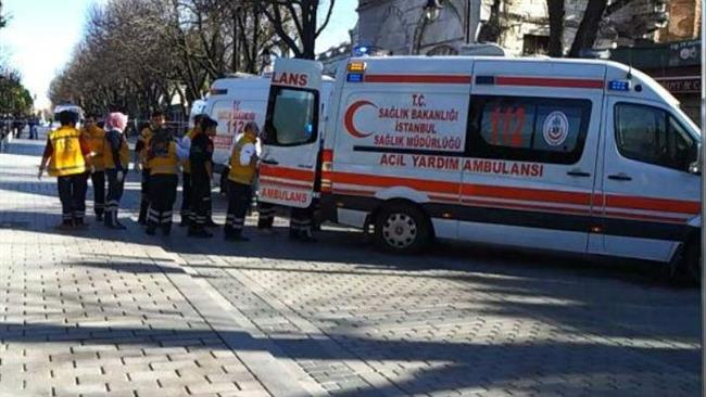 Photo of Blast causes casualties in Istanbul tourist spot