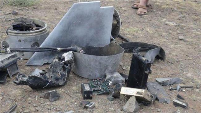 Photo of Yemeni troops shoot down spy drone in Sana'a