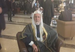 Photo of Palestinian cleric demands unity against Zionist regime