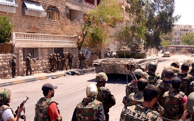 Photo of Syrian Army prepares to capture the last Nusra sites on the Hama-Homs border