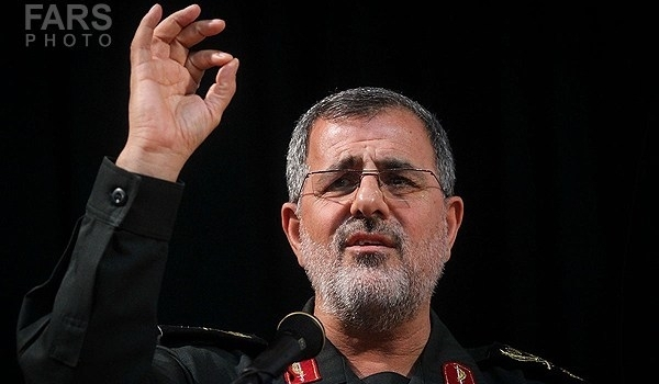 Photo of Iranian Commander: Terrorists Behind Borders Grounded by IRGC